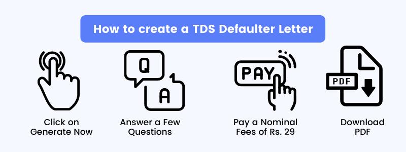 TDS Defaulter letter